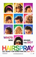 Hairspray - who's who behind the do? Fine-Art Print