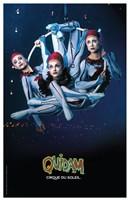 Cirque du Soleil - Quidam, c.1996 (ariel hoops) Wall Poster