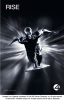 Fantastic Four: Rise of the Silver Surfer - Rise Black and White Fine-Art Print