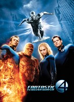Fantastic Four: Rise of the Silver Surfer Movie Poster Fine-Art Print