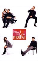 How I Met Your Mother - Sitting Wall Poster