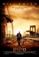 I Am Legend - Will Smith Fine-Art Print