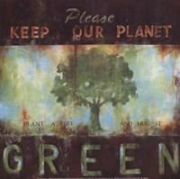 Green Planet Fine-Art Print