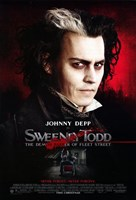 Sweeney Todd Johnny Depp Fine-Art Print