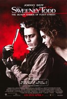 Sweeney Todd Johnny Depp and Helena Bonham Carter Fine-Art Print
