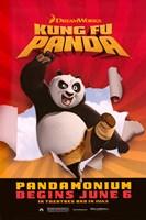 Kung Fu Panda Pandamonium Fine-Art Print