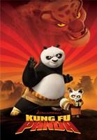 Kung Fu Panda Crouching Tiger Fine-Art Print