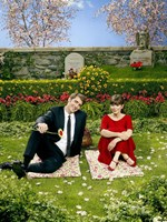 Pushing Daisies Charolette and Ned on Blanket Fine-Art Print