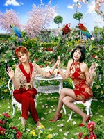 Pushing Daisies Lily and Vivian Lawn Chairs Fine-Art Print