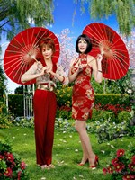 Pushing Daisies Vivian and Lily Fine-Art Print