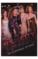 Sex and The City: The Movie - characters Fine-Art Print