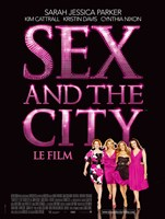 Sex and The City: The Movie - Le Film Fine-Art Print