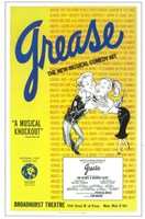 Grease (Broadway) New Musical Comedy Fine-Art Print