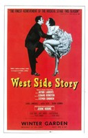 West Side Story (Broadway) red cover Fine-Art Print
