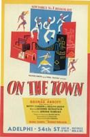 On The Town (Broadway) Fine-Art Print