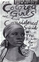 For Colored Girls Who Have Considered Suicide/When the Rainbow is Enuf (Broadway) Fine-Art Print