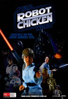 Robot Chicken: Star Wars Fine-Art Print