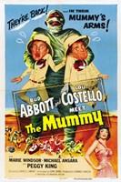 Abbott and Costello Meet the Mummy, c.1955 Fine-Art Print