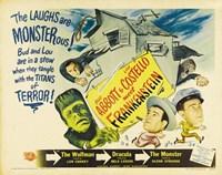 Bud Abbott and Lou Costello Meet Frankenstein, c.1948 Fine-Art Print