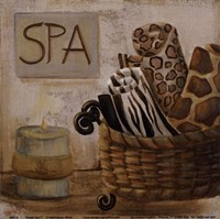 Jungle Spa I Fine-Art Print