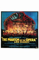 The Phantom of the Opera Fire to Opera House Fine-Art Print