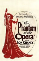 The Phantom of the Opera Art Deco Fine-Art Print