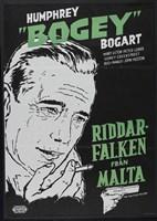 The Maltese Falcon Riddar Falken Fine-Art Print