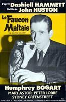 The Maltese Falcon Le Faucon Maltais Fine-Art Print