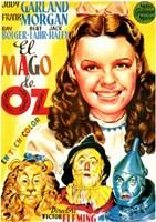 The Wizard of Oz Cartoon Fine-Art Print