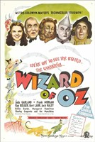 The Wizard of Oz Colorful Fine-Art Print