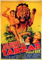 The New Adventures of Tarzan, c.1935 (Spanish) - style A Wall Poster