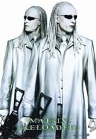 The Matrix Reloaded the Twins Fine-Art Print