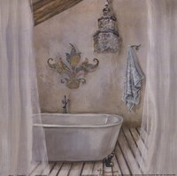 Crystal Bath I Fine-Art Print