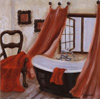 Antique Bath II Fine-Art Print