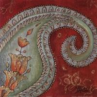Paisley Wave I Fine-Art Print