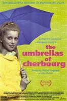 The Umbrellas of Cherbourg Blue Umbrella Fine-Art Print