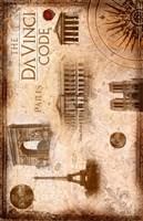 The Da Vinci Code Famous Places Fine-Art Print