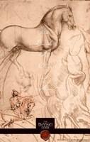 The Da Vinci Code Horse Sketch Fine-Art Print