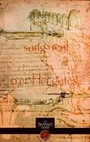 The Da Vinci Code Orange Sketch Fine-Art Print