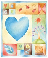 Big Blue Heart Fine-Art Print