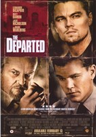 The Departed Damon DiCaprio Nicholson Fine-Art Print