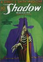 The (Pulp) Shadow Magazine Creeping Death Fine-Art Print