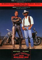 Harley Davidson and the Marlboro Man Fine-Art Print