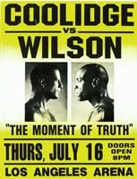 Coolidge vs. Wilson Fight Fine-Art Print