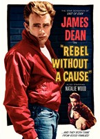 Rebel Without a Cause and they both came from good families Fine-Art Print