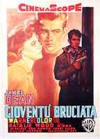 Rebel Without a Cause with a Gun Fine-Art Print