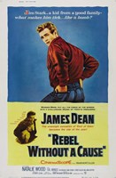 Rebel Without a Cause Blue and Yellow Fine-Art Print