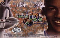 Space Jam - Bugs and Michael Fine-Art Print