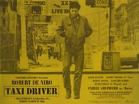 Taxi Driver Yellow Horizontal Fine-Art Print
