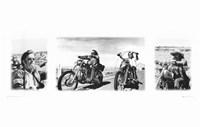 Easy Rider (triptych) Fine-Art Print